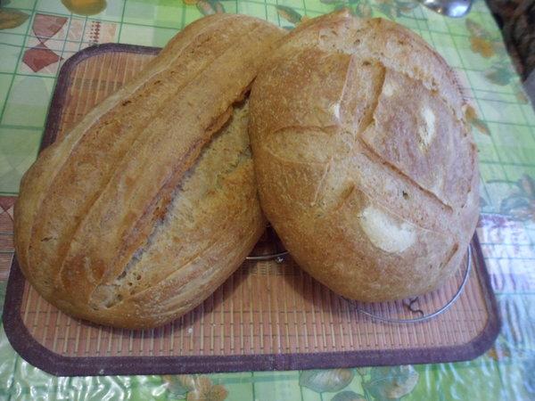 Самый простой белый хлеб