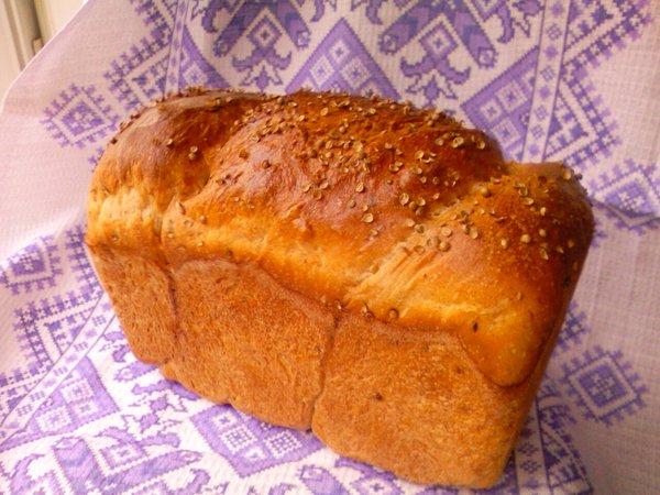 пшенично гречишно ржаной хлеб на жидких дрожжах