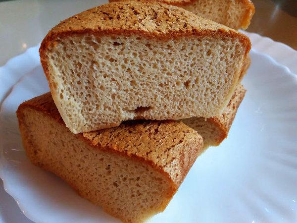 Хлеб из кунжутной пасты